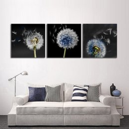 art canvas prints Australia - Modern Home Decoration Nordic Canvas Poster Dandelion Landscape Painting Modular Unframed Wall Art Prints Living Room