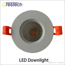 bridgelux led lighting NZ - High lumens AC 85-265V Bridgelux COB chip 5 yrs warranty for home office kitchen using LED commercial ceiling light Downlight