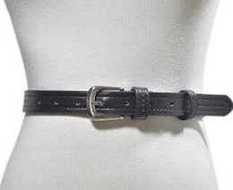 801a7f8b26d2c Perforate Metal Australia - 2018 new style product of perforated side  stitch ladies leather belt hot