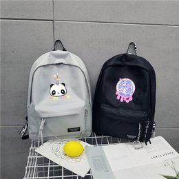 $enCountryForm.capitalKeyWord NZ - INS HOT Panda Unicorn cute lovely backpack children students fat cat cartoon animals schoolbags Korean Preppy style unisex