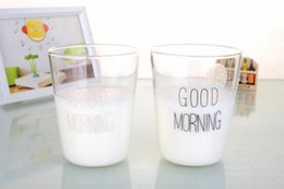 Tea Colored Canada - Multi-colored 11.8 fl.oz 350ml Milk Cups Handmase Heat-Resisting Glass Breakfast Coffee Tea Mugs Drop Shipping