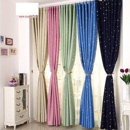 $enCountryForm.capitalKeyWord NZ - Pastoral finished blackout curtain bedroom curtains shading fabric living room thickening shade cloth stars