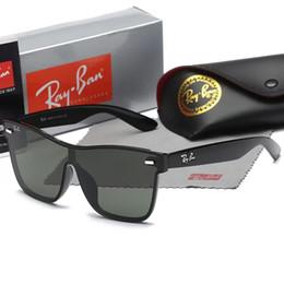 Vente en gros Lunettes de soleil kkhjjhg pour hommes marque Design mode lunettes de soleil Wrap lunettes de soleil pilote cadre revêtement miroir lentille en fibre de carbone jambes d'été style