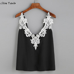 f9056cd78 Discount cropped renda - Lace Crop Top Women Lace Vest Top Sleeveless  Casual Tank Summer Loose