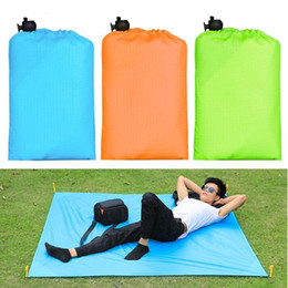 Wholesale 70 cm Portable Pocket Camping Mat Blacket Outdoor Camping Hiking Picnic Waterproof Moistureproof Sleeping Pad Beach Mat