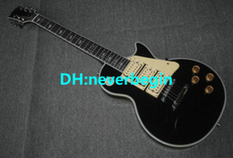 Guitar Custom Shop Black NZ - Best High Quality hot selling Factory custom shop style Ace black guitar high 3 pickups Electric Guitar free shipping