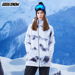 $enCountryForm.capitalKeyWord NZ - GSOU SNOW Brand Snowboard Jackets Women's Double Single Board Ski Jackets Winter Ladies Skiing Snowboarding Coats Snow Clothes