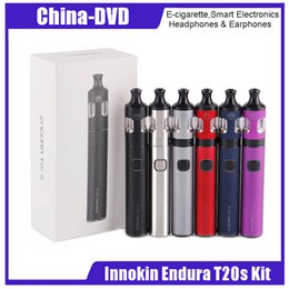 S electronicS online shopping - Original Innokin Endura T20 S Kit Vape pen mAh Li Po battery Prism T20S Tank ohm Prism S Coil Electronic Cigarette Kit