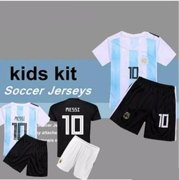 argentina world cup 2019 - 2018 World Cup kids kit boy MESSI DYBALA Argentina  child home d86ae9ce0