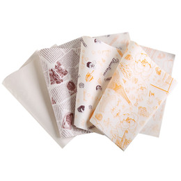 China 2000 x (26x36cm )Wax Paper Food Wrapping Paper Greaseproof Baking Paper for HamBury Packing cheap waxed wrapping paper suppliers