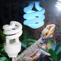 $enCountryForm.capitalKeyWord NZ - Heat Emitter Ultraviolet Light Bulb E27 5.0 UVB 26W Pet Reptile Light Glow Lamp Daylight Bulb for Tortoise Fish Amphibians