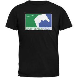 Gamers T Shirts Canada - Sleeve T Shirt Homme Crew Neck Men 100% Cotton Short Sleeve Major League Gamer Tee