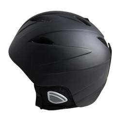 Helmet Covers UK - Ski helmet Adult Half-covered Intrgrally-moldedOutdoor Helmet Protect Head Snowboard Skating Safety Light Ventilation Skiing