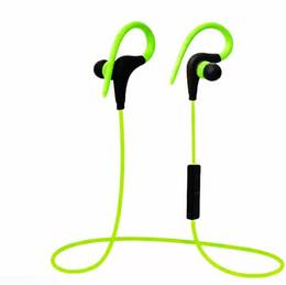 $enCountryForm.capitalKeyWord Australia - 2018 Bluetooth Headphones Sport Wireless Hook Stereo Music Player Neckband Earphones Jogging Headphones For Iphone 7 With Retail Box