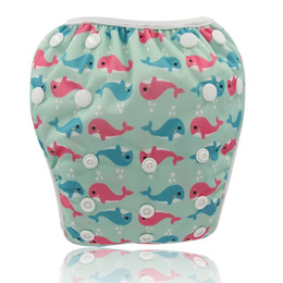 One Size Diaper Australia - Waterproof Swim Diapers Pool Pants Unisex Adjustable Baby Swim Diaper Pant One Size Breathable Cover Suit for 3-15KG