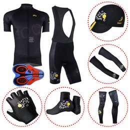 TOUR DE FRANCE team Cycling jersey Ropa Ciclismo MTB quick-dry bike  sportwear full set cycling equipment 100607F f7db64efd
