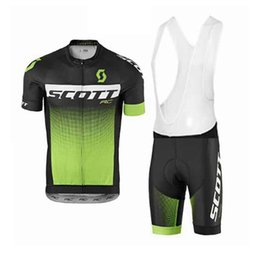 2018 Scott Short Sleeves Cycling Jersey Kit With 3D Gel Padded Hombre Mtb  Bike Clothes Racing Sport Wear Quick Dry Ropa Ciclismo 82020Y 57753b83e