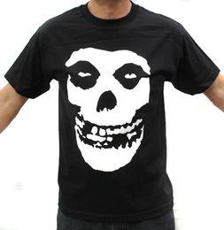 $enCountryForm.capitalKeyWord Australia - Newest 2018 Misfits Punk Band White Logo On Back Graphic T-Shirts Cartoon tee shirt homme high quality top tees