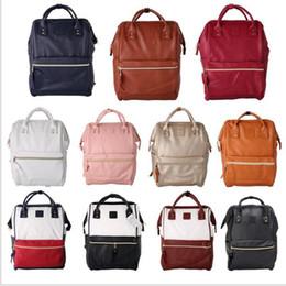 PU Leather Ring Backpack School Bags For Teenagers Male Anello Backpack Sac  A Dos Women Mochila Zaino Rucksack Seljakott 160c9298ed9ab