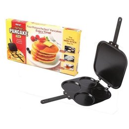 $enCountryForm.capitalKeyWord NZ - Metal Iron Perfect Pancake Maker Omelette Flip Jack Eggs Crepes Mold For Home Sturdy Kitchen Tools Practical 25hf BB