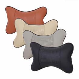 China 2pcs Car Neck Pillow Perforating Design PU Leather for KIA Rio K2 K3 K4 K5 KX3 KX5 Cerato,Soul,Forte,Sportage R,Sorento Optima supplier car kia forte suppliers