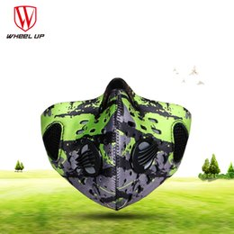 $enCountryForm.capitalKeyWord NZ - Wholesale- Wheel Up 2017 Real Paintball Face Mask Men Women Wind-proof Anti-fog Anti-haze Cycling Sports Dust Pm2.5 Activated Carbon Masks