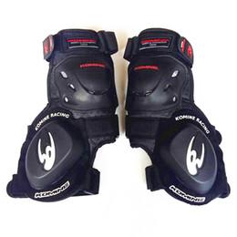 Мотоцикл Защитный KneePad для Komine Motocross Racing Выделенный изогнутый шлифовальный блок слайдер Racing Plus Bend Knee Pad на Распродаже