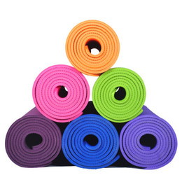 $enCountryForm.capitalKeyWord NZ - Beginners environmental protection TEP tasteless yoga mat thickened 6mm fitness mat anti-skid durable sports pilates pad