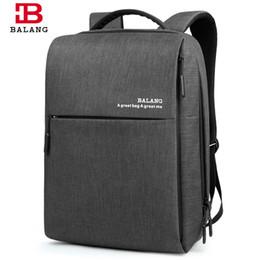 cc58929829 2017 New Korean Style BALANG Brand Unisex Men Waterproof 14 Laptop School  Backpacks Male Business Fashion School Shoulder Bags
