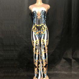 $enCountryForm.capitalKeyWord NZ - Customize Sexy Dj Singer Stage Clothes Club Pole Dancing Bodysuit Clothing High Waist Jazz Costume Performance Wear CosplayDJ108