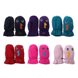 wholesale kids mitten NZ - New Arrival Winter Good Quality Baby Mitten For Winter Kids Boys Girls Outdoor Warm Gloves Waterproof Windproof