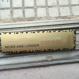 Leopard shipping online shopping - 60pcs Makeup Leopard LASH Mascara more and longer black ml Waterproof cosmetic mascara DHL