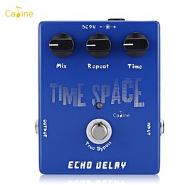 Echo Pedals Australia - Caline Time Space Echo Delay Electronic Guitar Effects Pedal Space Echo Electric Digital Delay Pedal 600ms Max True Bypass Musical Inst