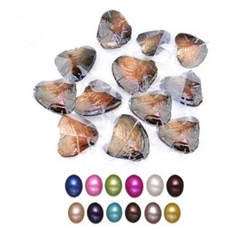 $enCountryForm.capitalKeyWord Australia - Wholesale 11 Colors 6-7MM 11 Pearls Beads In Oysters Individual Vacuum Package Oval Oyster Pearls In Shell Drop Shipping