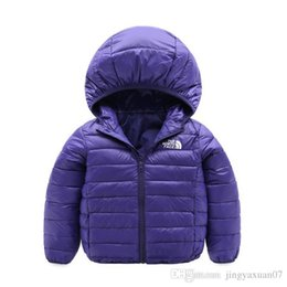 China face north Baby children s coat best selling new boy s cotton dress girl s pure color hat and light cotton padded jacket -013-2 suppliers