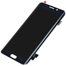 Chinese  Original LCD Screen Display Touch Digitizer Assembly For Samsung Galaxy S6 Edge Plus and For Samsung S6 Edge lcd manufacturers