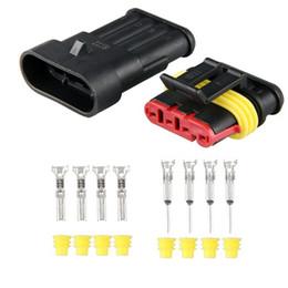 10 set auto car 4 pin way waterproof electrical discount auto wiring connectors auto wiring connectors 2018 on