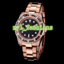 $enCountryForm.capitalKeyWord Australia - World Famous Men's Brand Watches Rose Gold Stainless Steel Fashion Diamonds Luxury Watch Automatic Mechanical Sports Waterproof Watches