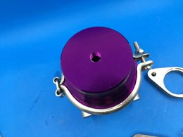 turbocharger manifold Australia - GT35MM 38MM TURBO CHARGER MANIFOLD V-BAND EXTERNAL PURPLE WASTEGATE+8 PSI SPRING