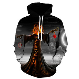 Jack Gifts Australia - Halloween party gift skull jack pumpkin 3D Hoodies Sweatshirts Men Women Hoodie Casual Tracksuits Fashion Brand Hooded Coats