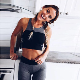 $enCountryForm.capitalKeyWord Australia - 2018 Yoga Women Sport Suit Leggings Tank Top Fitness Tights Body-building Yoga Set Sports Vest Pants Women Trendy Train Apparel