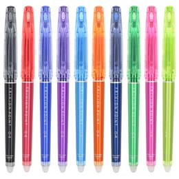 $enCountryForm.capitalKeyWord Canada - Japanese PILOT LF-22P4 erasable gel pen 0.4mm pen nib Office stationery learning supplies gift 5 Pieces Gel Pens 2018
