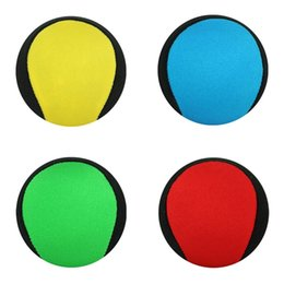 New game color online shopping - Colourful Beach Balls Swimming Pool Toy New Creative Bouncing Ball On Water Game Children Toys hy C R