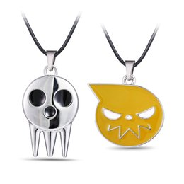 Chinese  Halloween Necklace Pendant Soul Eater Souleater Ghost Sign Pendant Necklace Jewelry Accessories manufacturers