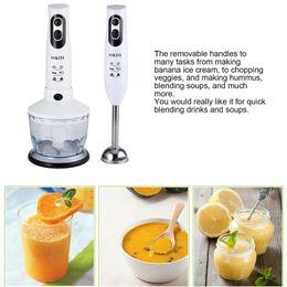 Venda quente Multifuncional Agitador Doméstico 600 W Elétrica Vara Liquidificador Mão Blender Egg Whisk Moedor De Carne Processador De Alimentos SKY-5022-3