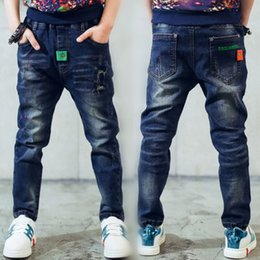 $enCountryForm.capitalKeyWord Canada - Children gift, jeans boy for children wear fashionable style and high quality kids jeans, boys ripped jeans, 2 - 14 years old Y18103008
