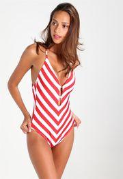 $enCountryForm.capitalKeyWord Canada - GraceQueen 2018 One Piece Swimsuit Striped Swimwear Backless Swim Suits Sexy Popular Swimming Bikini Pool Sporting Us DHL FREE SHIP