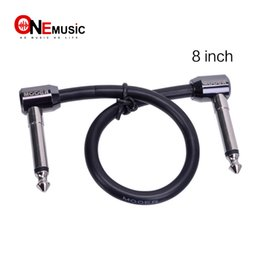 Mooer Pedals Australia - New Mooer FC Series 8 Inch High Quality Effect Pedal Cable FC-8 Black