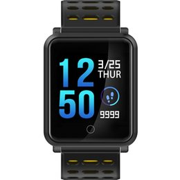 $enCountryForm.capitalKeyWord NZ - Depth Of Waterproof Watch Heart Rate Monitor Children's Pedometer Women's Health Monitor Professional Sleep Monitoring Sport Smart Watch Man