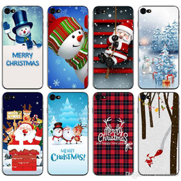 $enCountryForm.capitalKeyWord NZ - New Arrival TPU Christmas Case for iphone X 8 7 6 6s Plus 5 5s SE Samsung Huawei Painting Cell Phone Cases Back Covers Shell OPP Bag